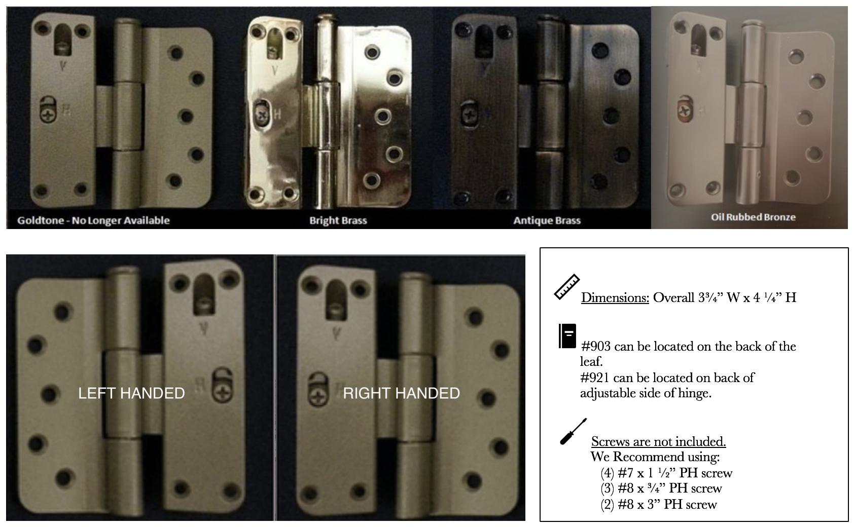 Hurd Door Replacement Parts